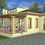 бунгало в Лапте Северный Кипр