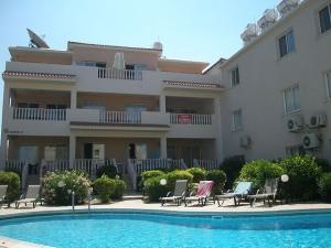 апартамент в Пафосе с видом на море