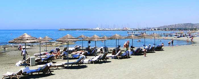 Пляж в Пиргосе PANAGIES BEACH Лимассол
