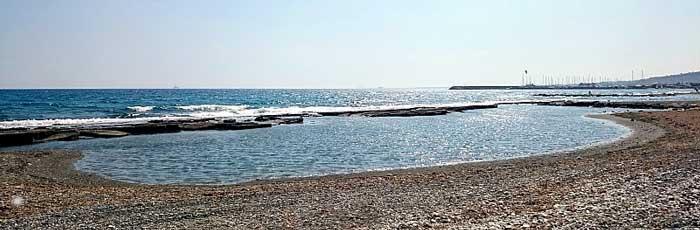 Пляж в Пиргос Лимассол