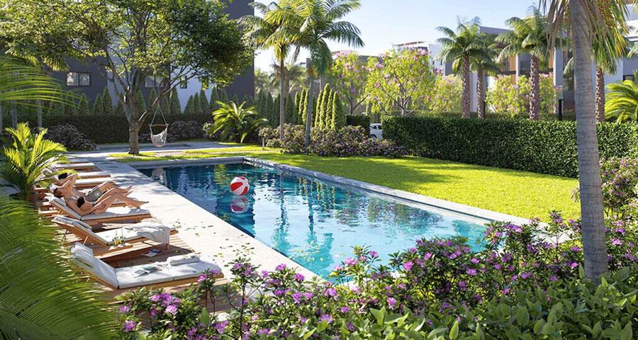 Продажа квартир в комплексе gardens Лимассол